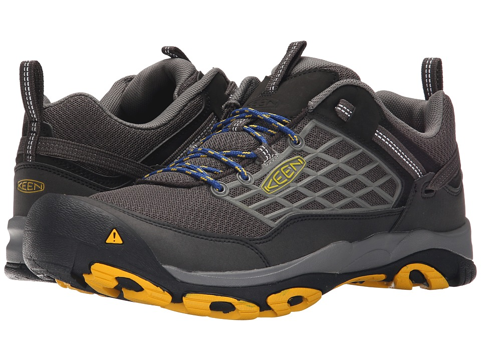 Keen - Saltzman (Raven/Spectra Yellow) Men's Shoes