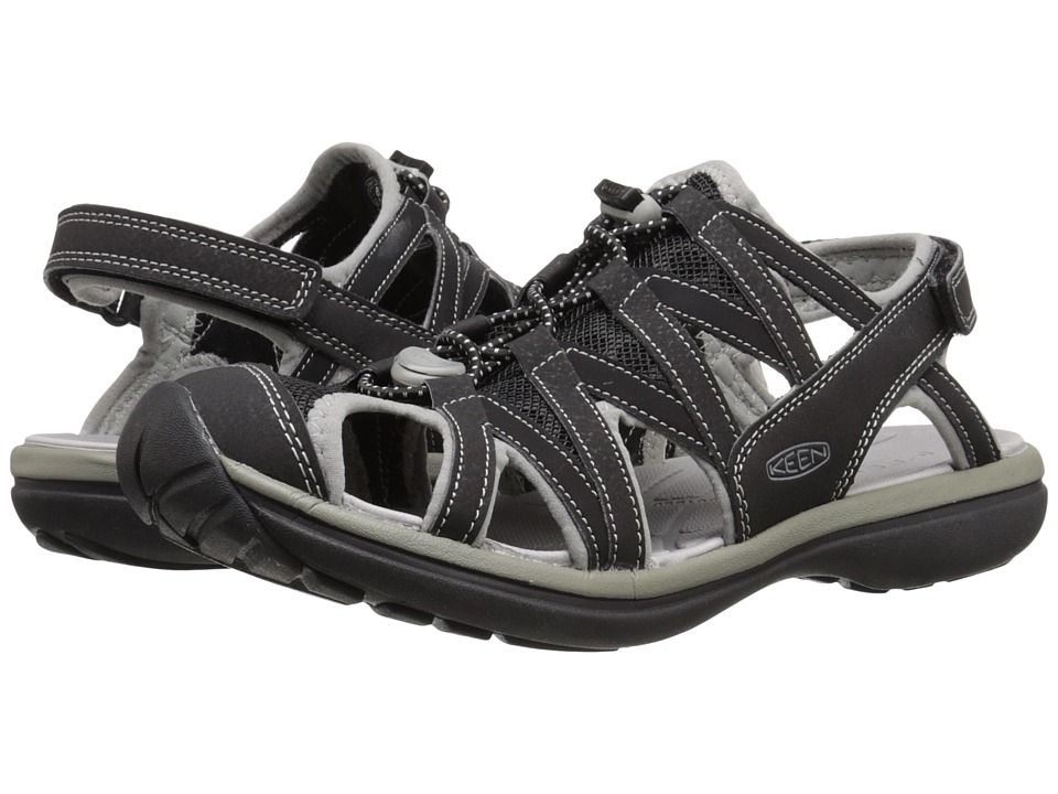 Keen - Sage Sandal (Black/Neutral Gray) Women's Sandals