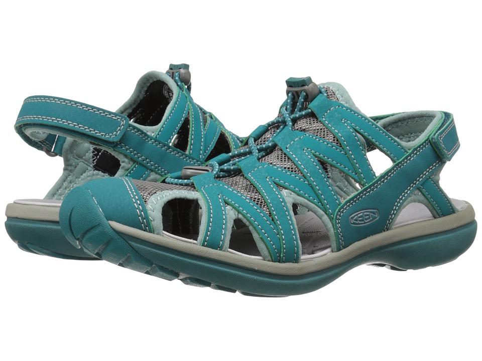 Keen Sage Sandal (Everglade/Mineral Blue) Women