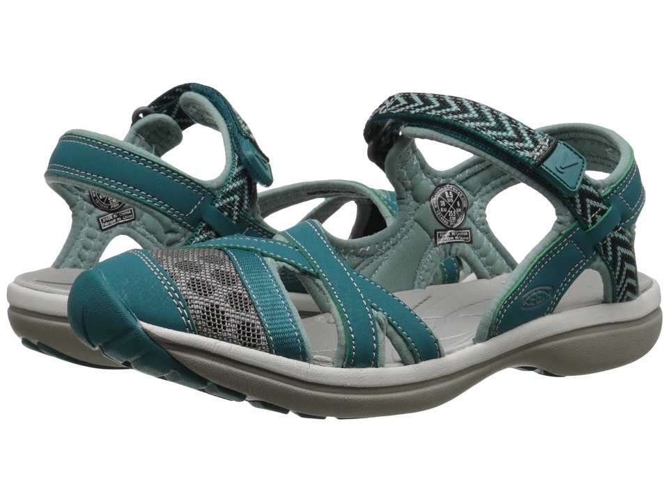 Keen - Sage Ankle (Everglade/Mineral Blue) Women's Shoes