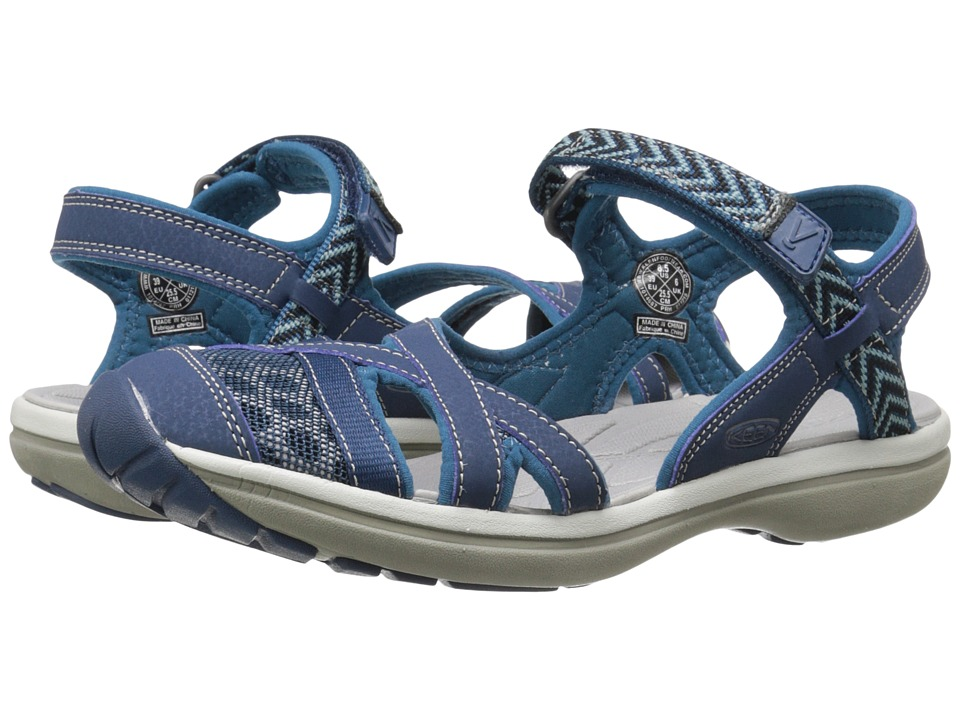 Keen - Sage Ankle (Poseidon/Ink Blue) Women's Shoes
