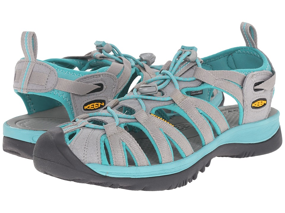 Keen - Whisper (Neutral Gray/Lagoon) Women's Sandals