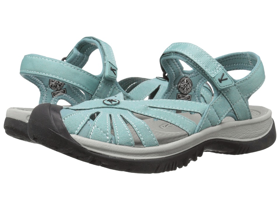 Keen Rose Sandal (Mineral Blue/Neutral Gray) Women