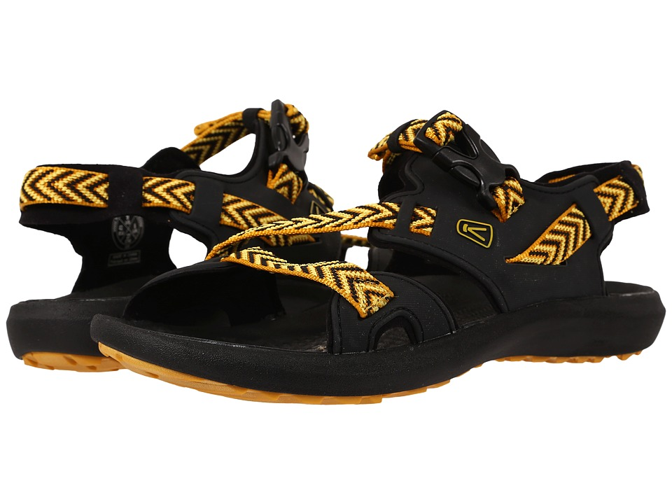 Keen - Maupin (Raven/Golden Yellow) Men's Shoes