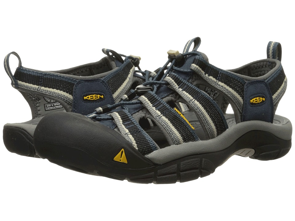 Keen - Newport H2 (Midnight Navy/Feather Gray) Men's Sandals