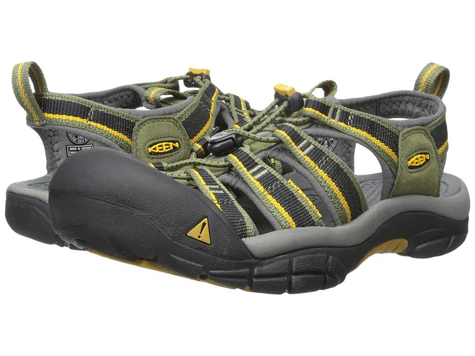 Keen - Newport H2 (Burnt Olive/Golden Yellow) Men's Sandals