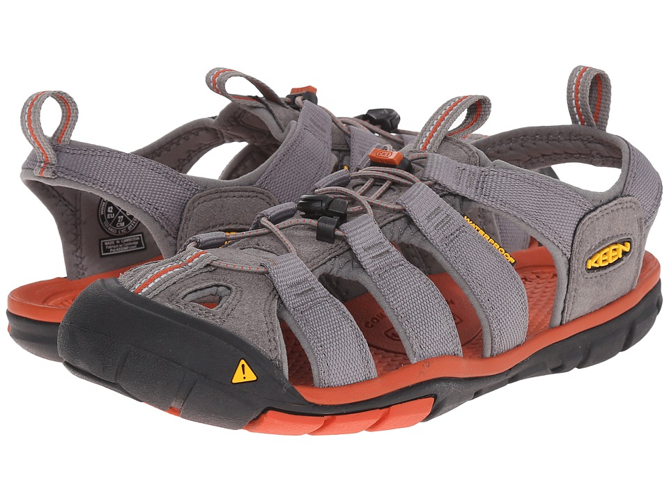 Keen - Clearwater CNX (Gargoyle/Burnt Ochre) Men's Shoes