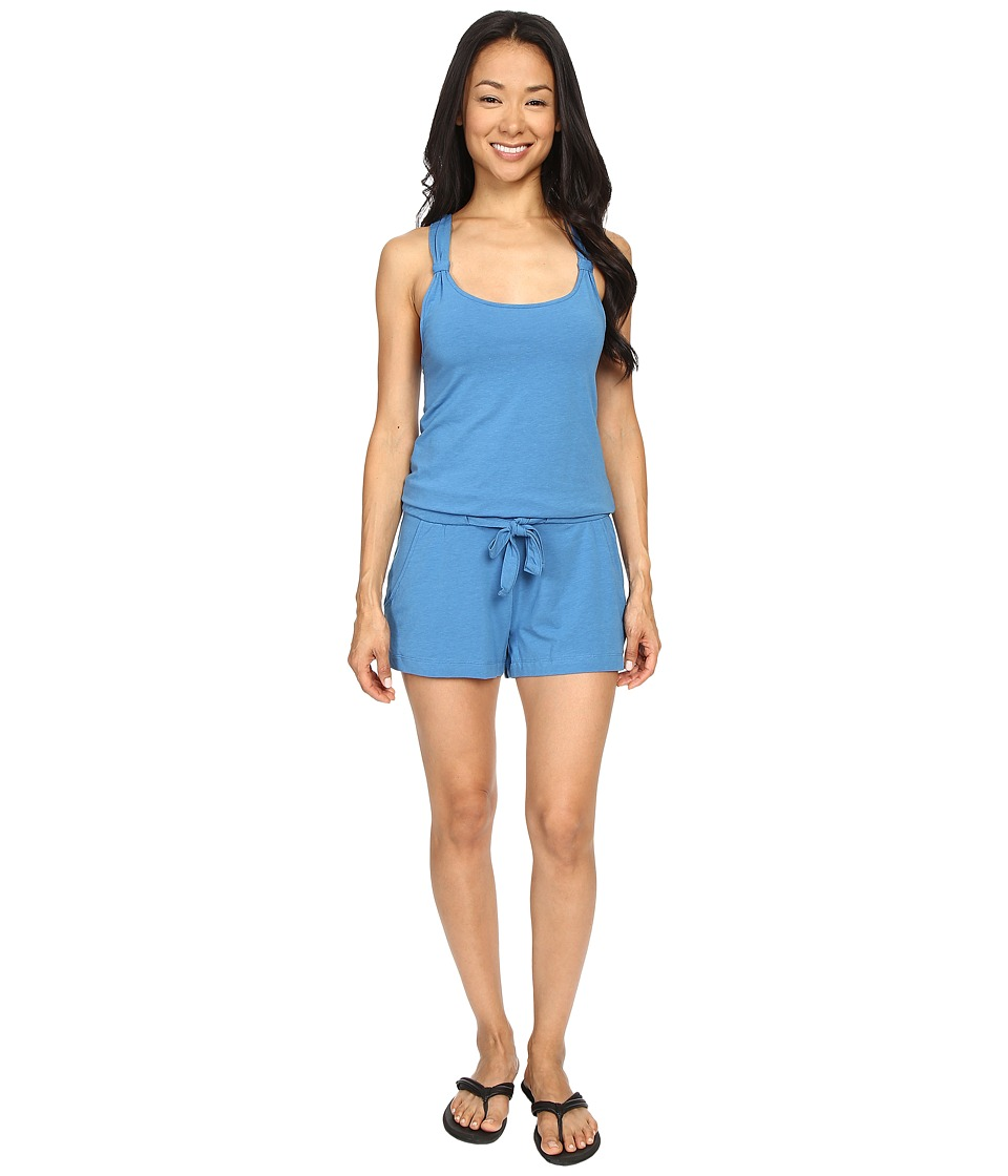 Lole - Jamillia Romper (Vallarta Blue) Women's Jumpsuit & Rompers One Piece