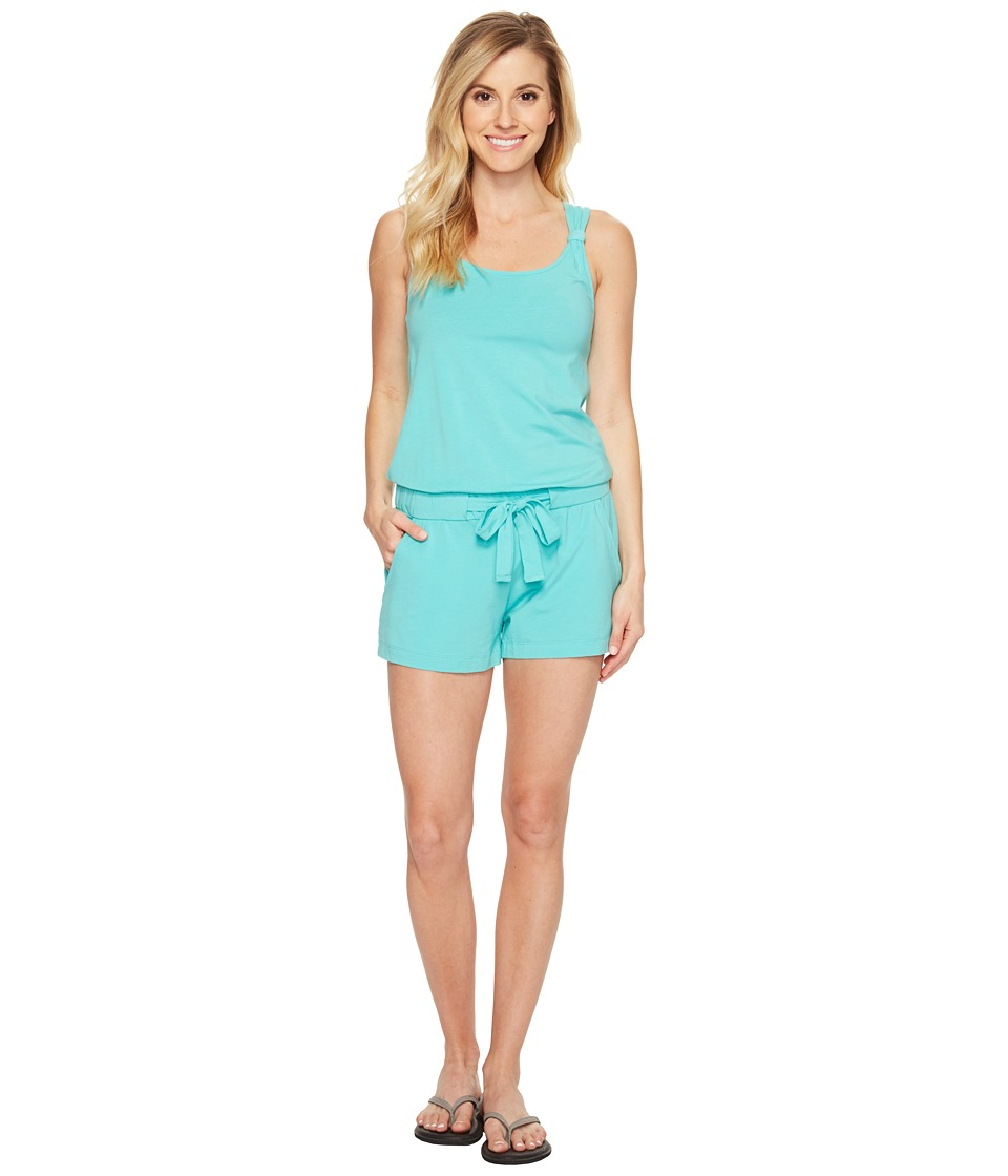Lole - Jamillia Romper (Turquoise) Women's Jumpsuit & Rompers One Piece