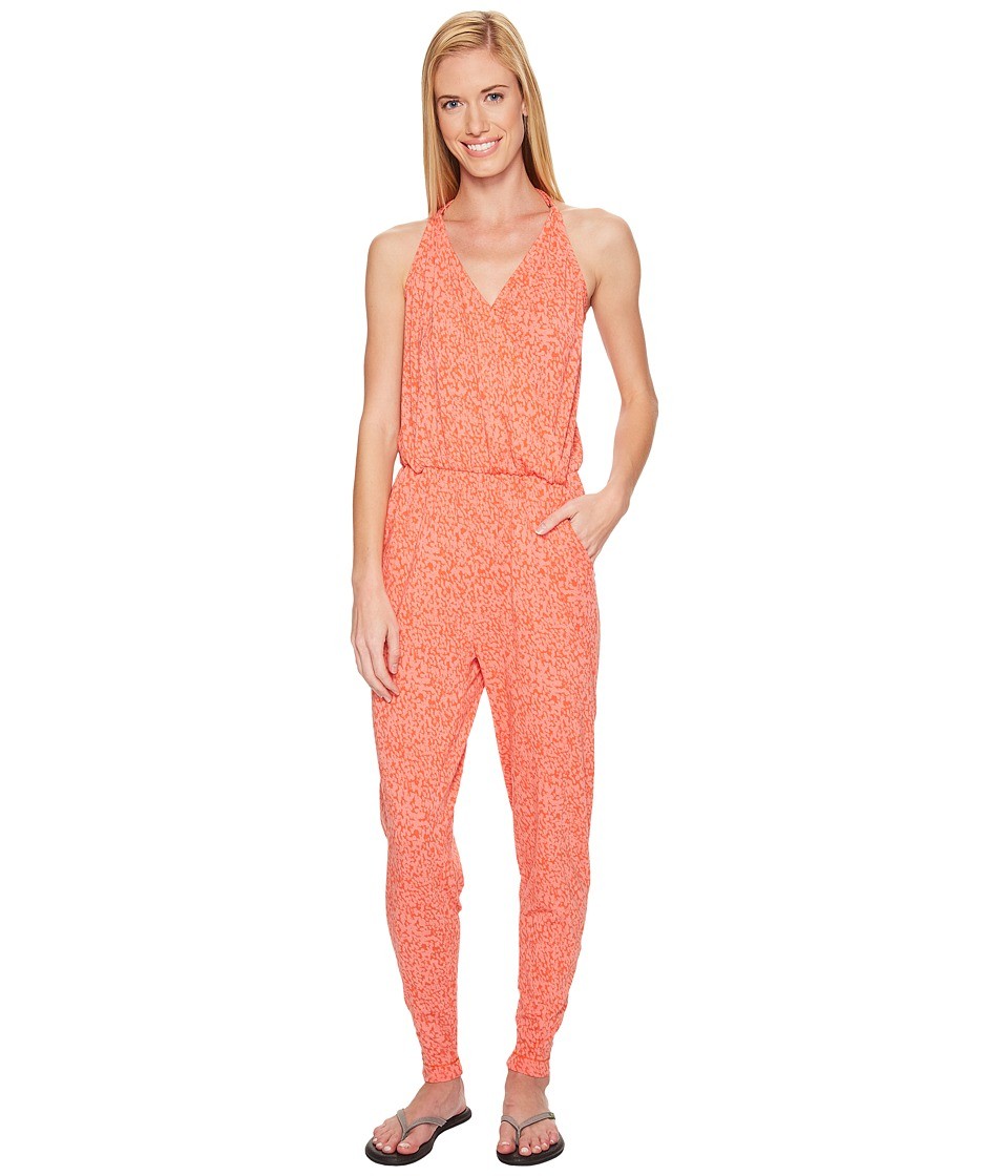 Lole - Tamara Romper (Pitaya Footprint) Women's Jumpsuit & Rompers One Piece