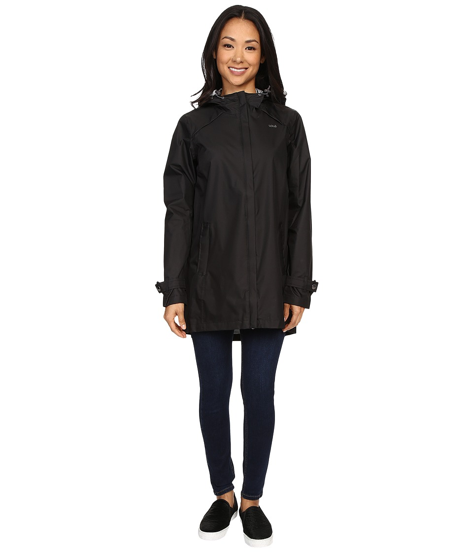 Lole - Stratus Jacket (Black) Women's Coat