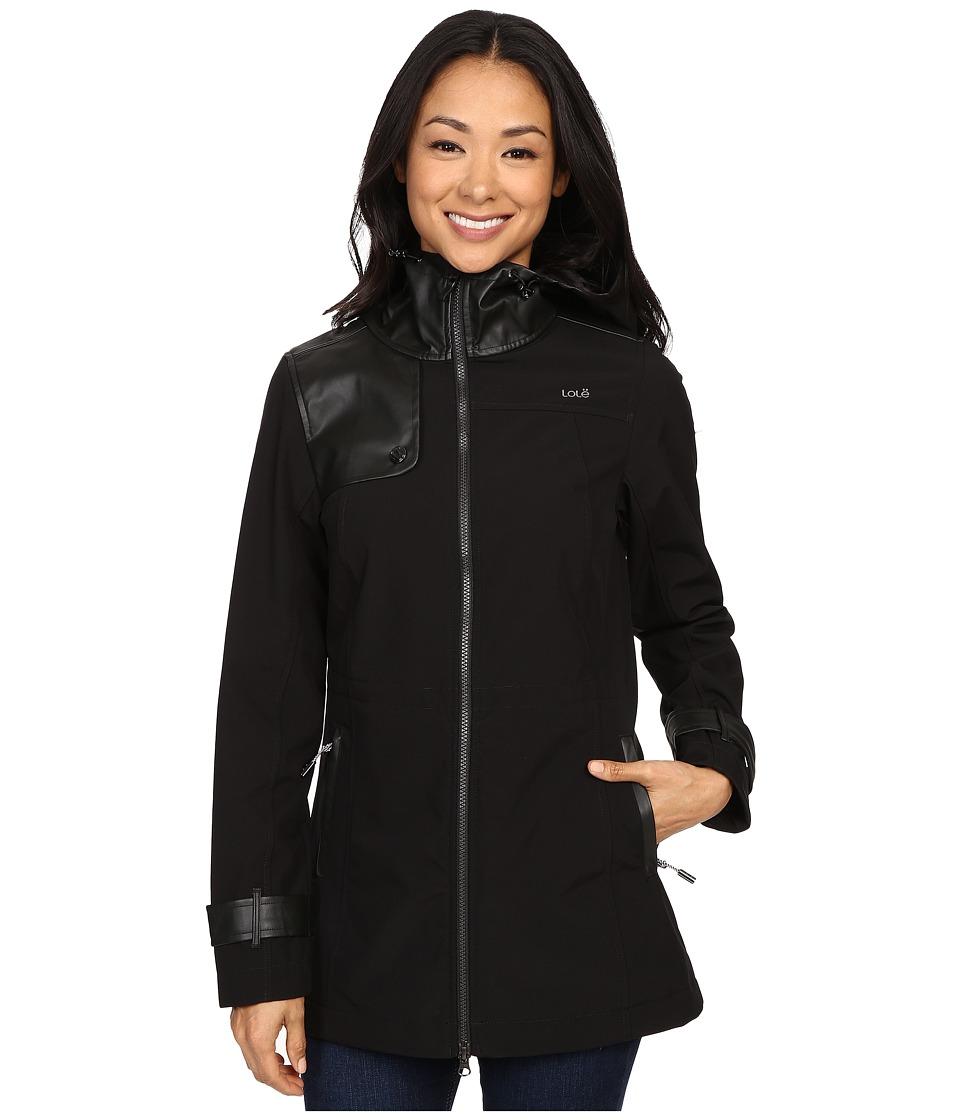 Lole - Promise Jacket (Black) Women's Coat