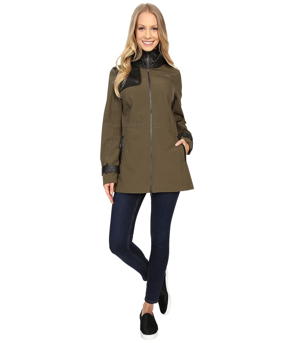 Lole - Promise Jacket (Khaki) Women's Coat