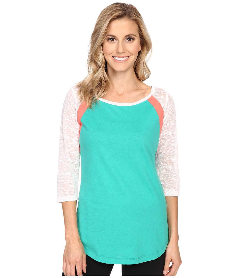 Lole - Lita Tee (Green Tropic) Women's T Shirt