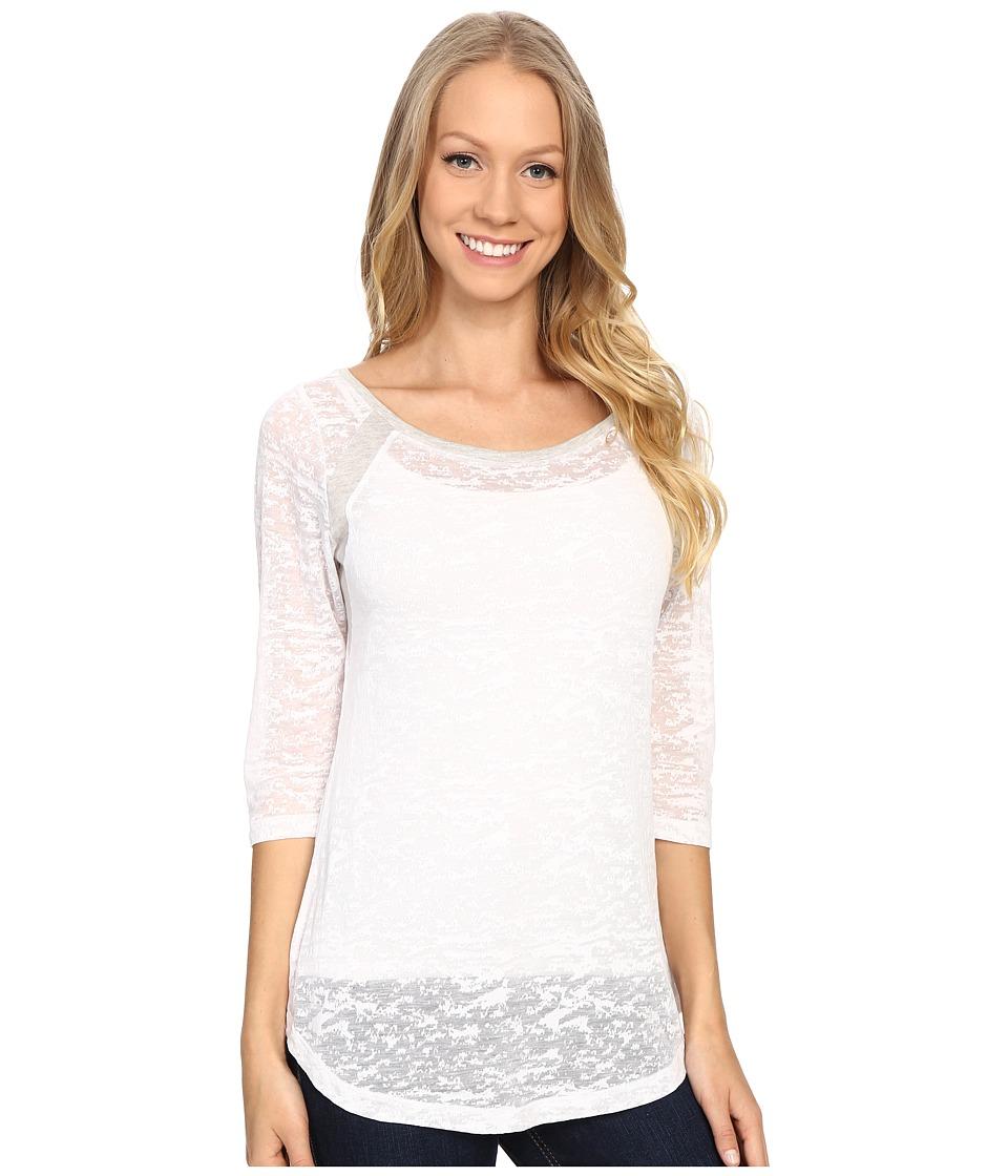 Lole - Lita Tee (White Texture) Women's T Shirt