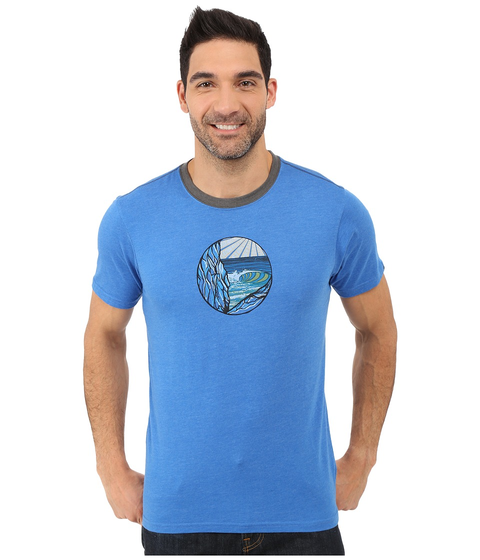 Prana - Swell Ringer (Classic Blue) Men's T Shirt