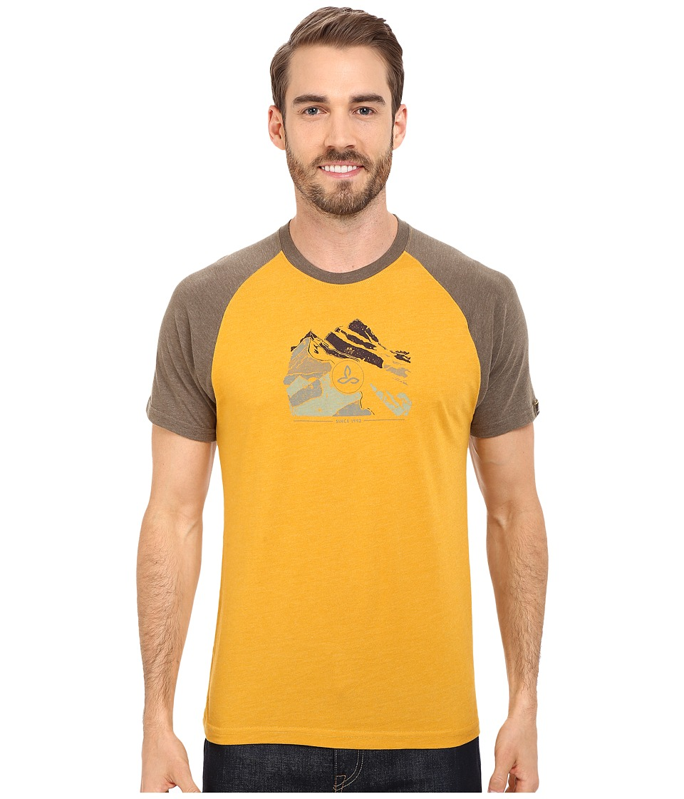 Prana Blazing Trails Raglan (Marigold) Men