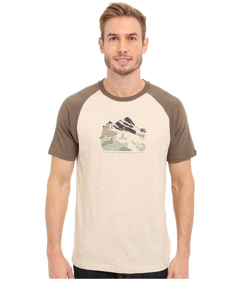 Prana Blazing Trails Raglan (Stone) Men