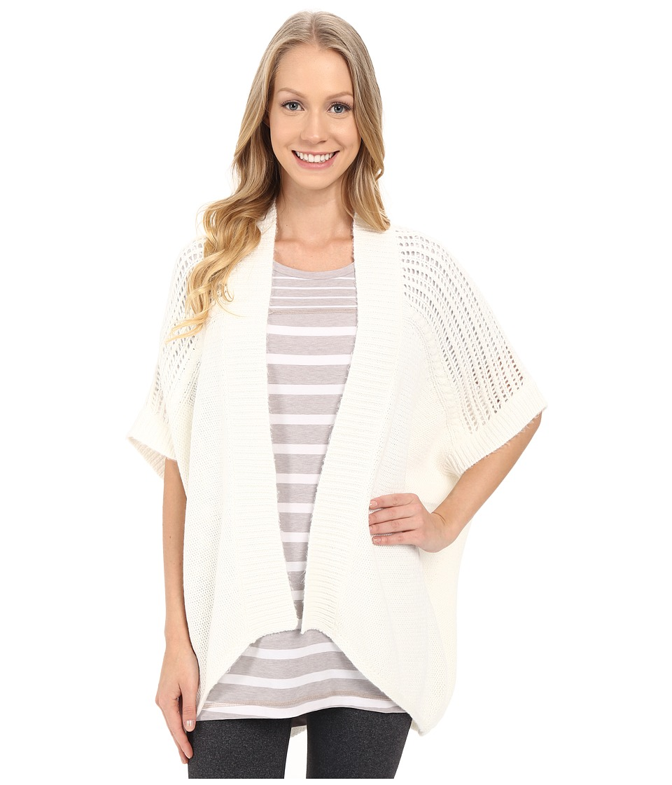 Lole - Toni Cardigan (White) Women's Sweater