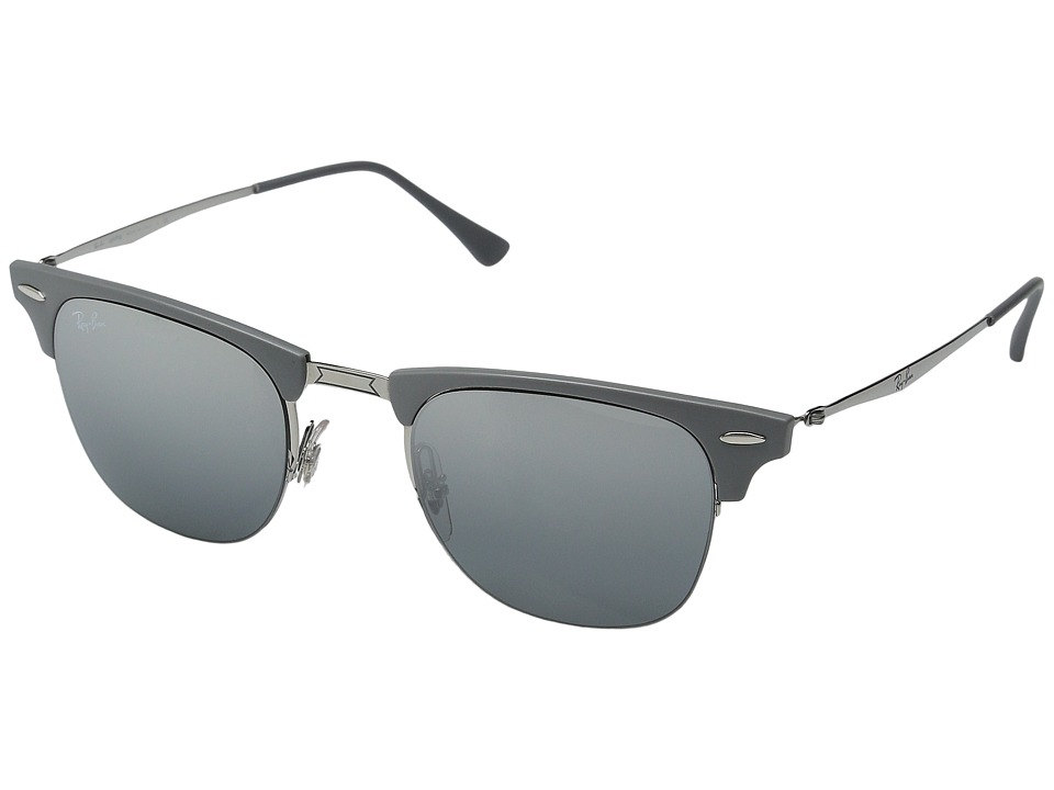 Ray-Ban - RB8056 (Grey Mirror Silver Gradient) Fashion Sunglasses