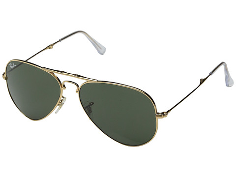Ray-Ban - Folding Aviator (Arista Green) Fashion Sunglasses