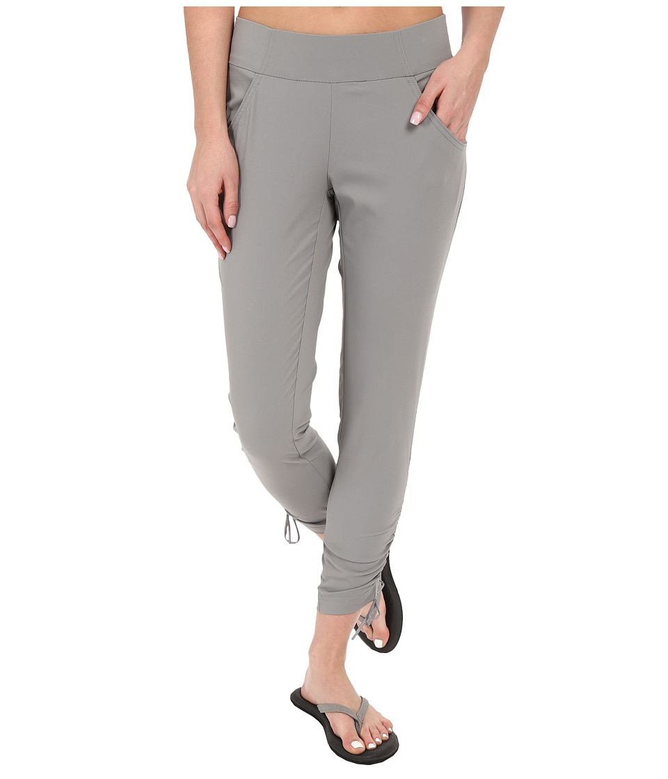 Columbia - Anytime Casual Ankle Pants (Light Grey) Women's Casual Pants