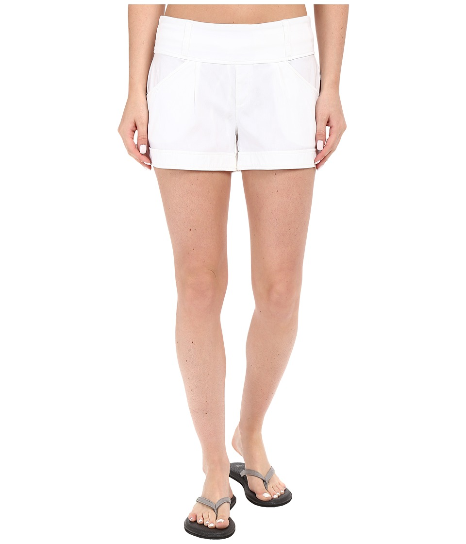 Lole - Harbour Shorts (White) Women's Shorts