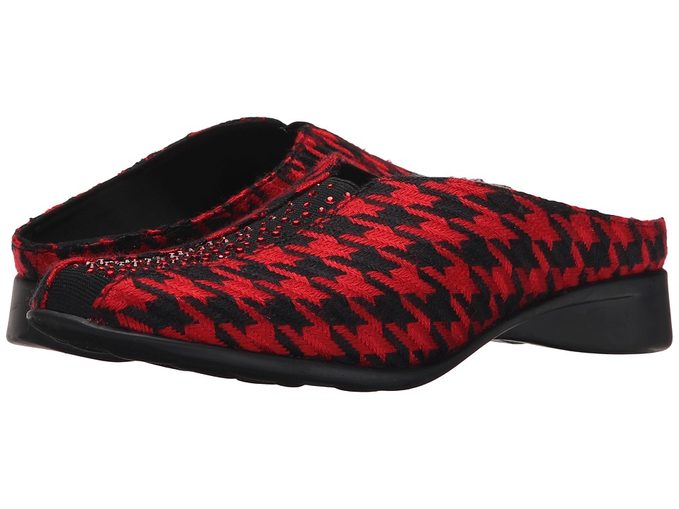 J. Renee - Cayla (Black/Red) Women's Shoes