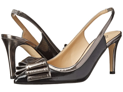 J. Renee - Marva (Black/Nickel) High Heels