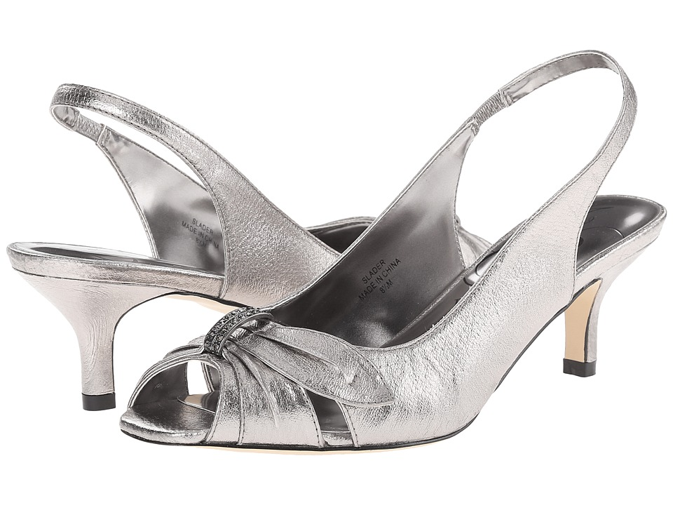 J. Renee - Slader (Taupe) Women's Sling Back Shoes