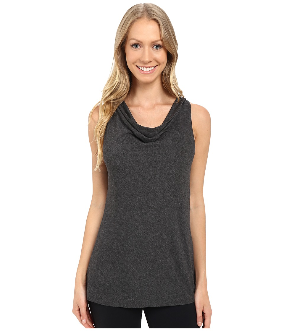 Lole - Pina Top (Black Heather) Women's Sleeveless