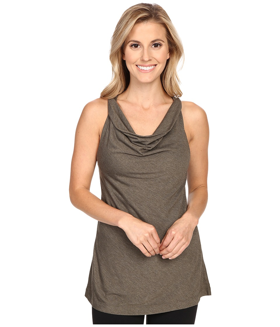 Lole - Pina Top (Khaki Heather) Women's Sleeveless