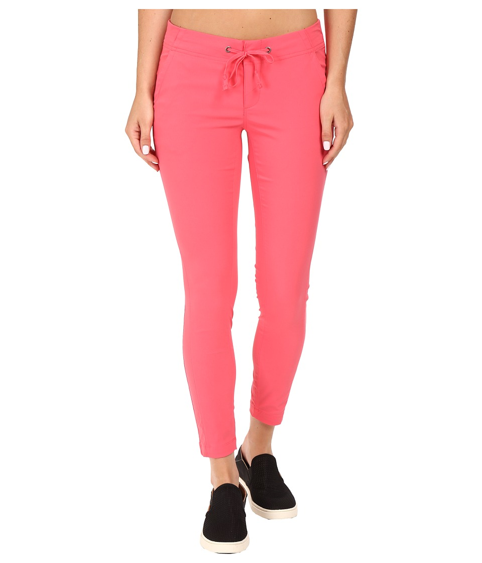 Columbia - Anytime Outdoor Ankle Pant (Bright Geranium) Women's Casual Pants