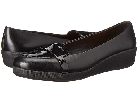 FitFlop - F-Pop Loafer (Black) Women