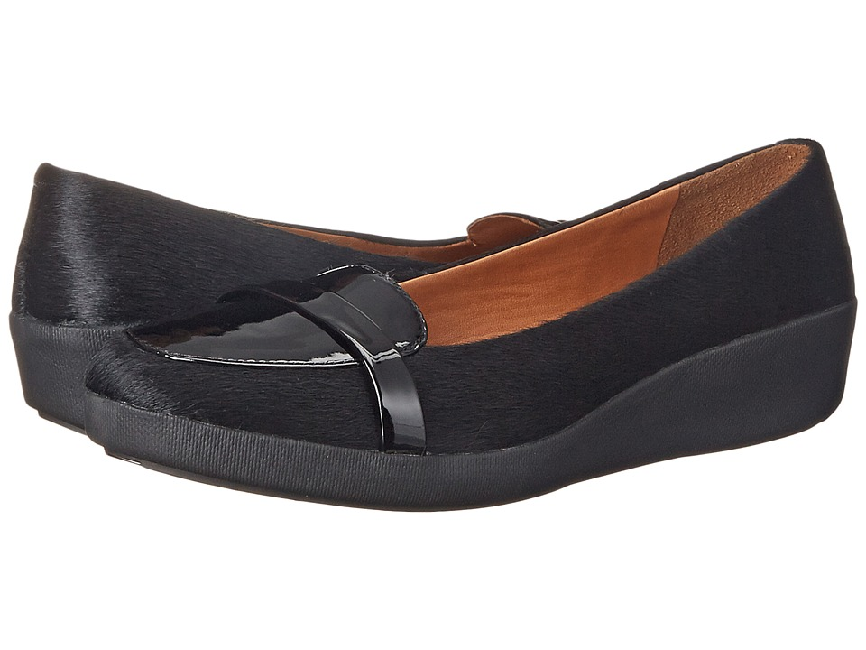 FitFlop - F-Pop Loafer (Black Mix) Women