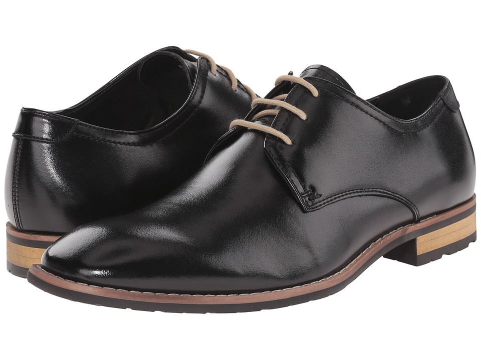 Steve Madden - Elusionn (Black Leather) Men