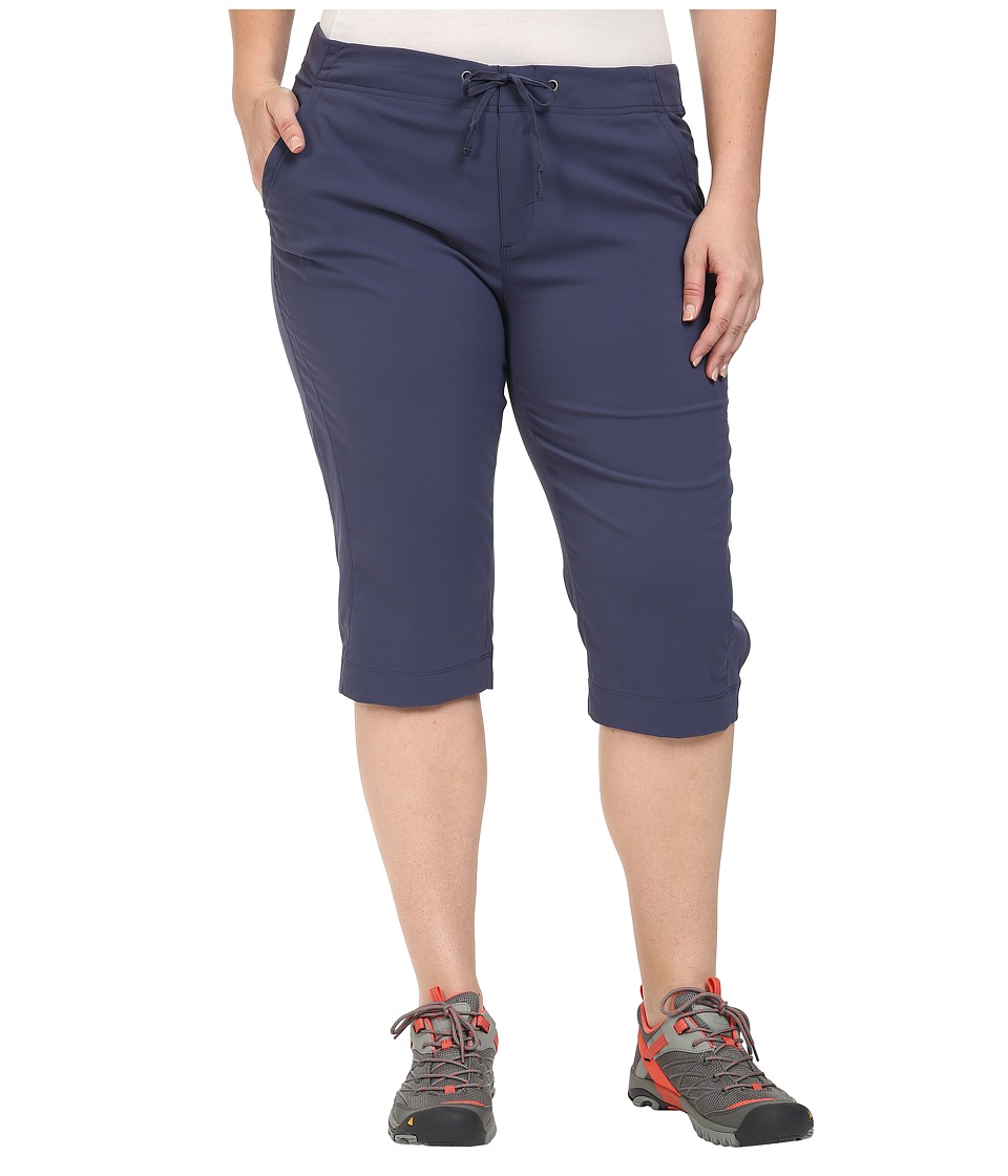 Columbia - Plus Size Anytime Outdoor Capri (Nocturnal) Women's Capri