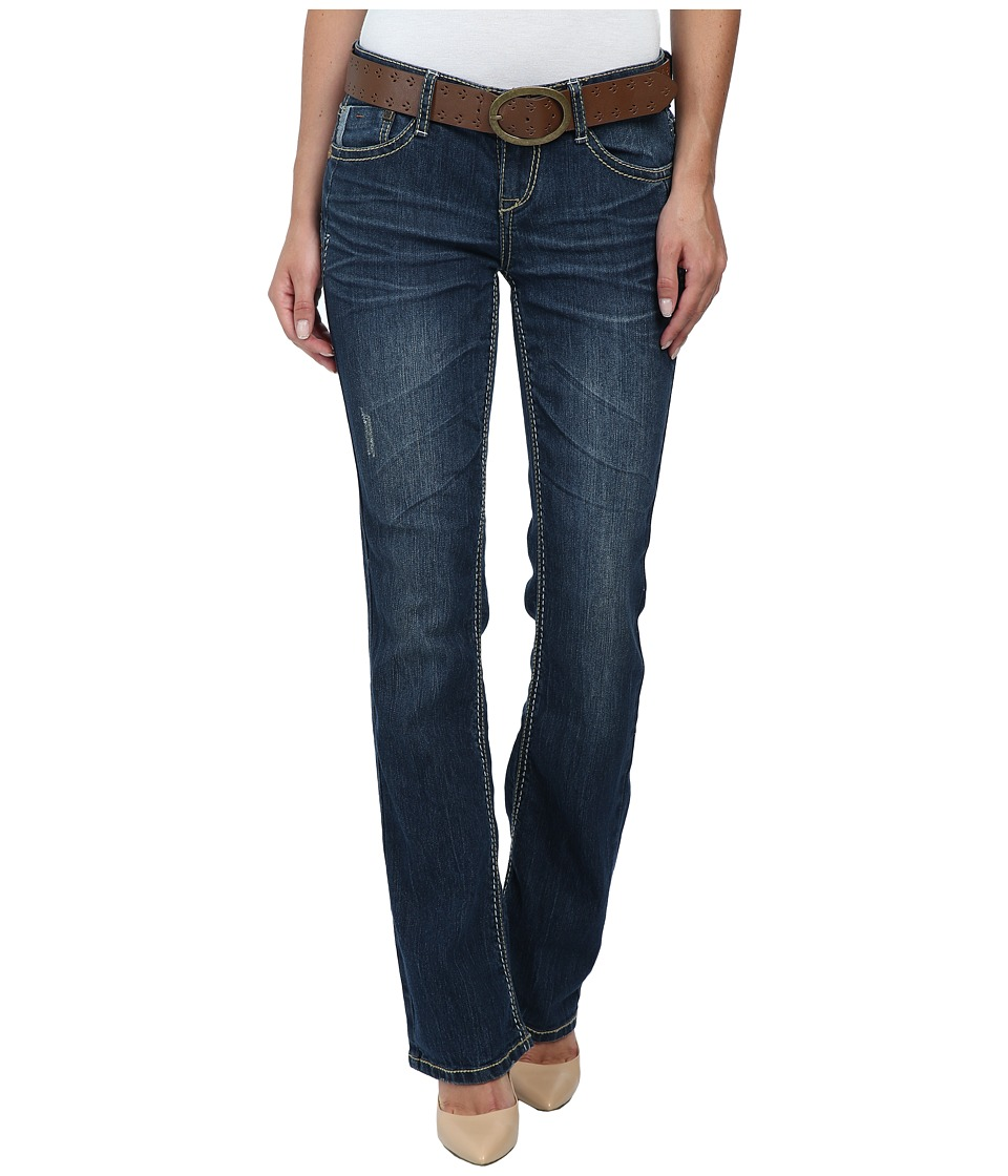 UNIONBAY - Karlie Skinny Boot Jean in Faded Indigo (Faded Indigo) Women