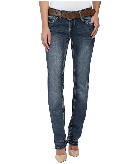 UNIONBAY - Porter Slim Straight Jean in Bay Blue (Bay Blue) Women
