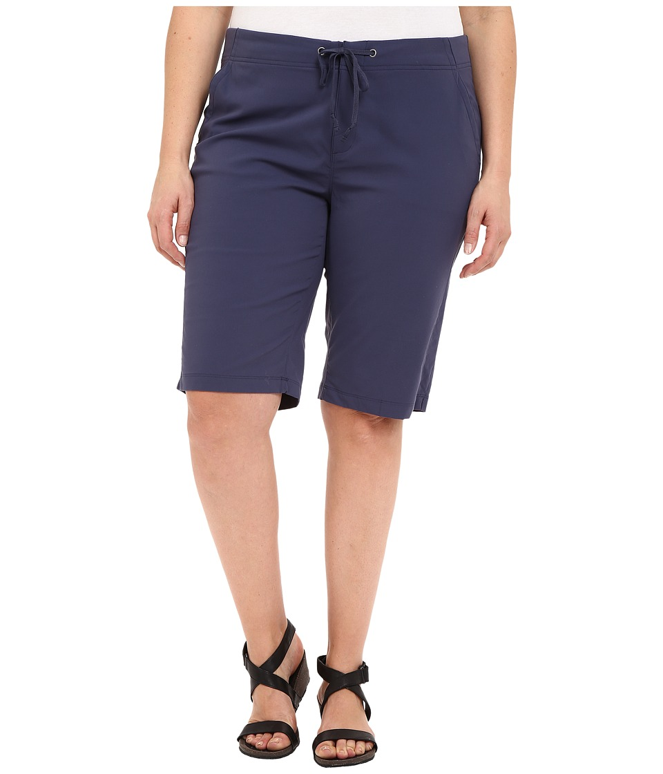 Columbia Plus Size Anytime Outdoortm Long Shorts (Nocturnal) Women