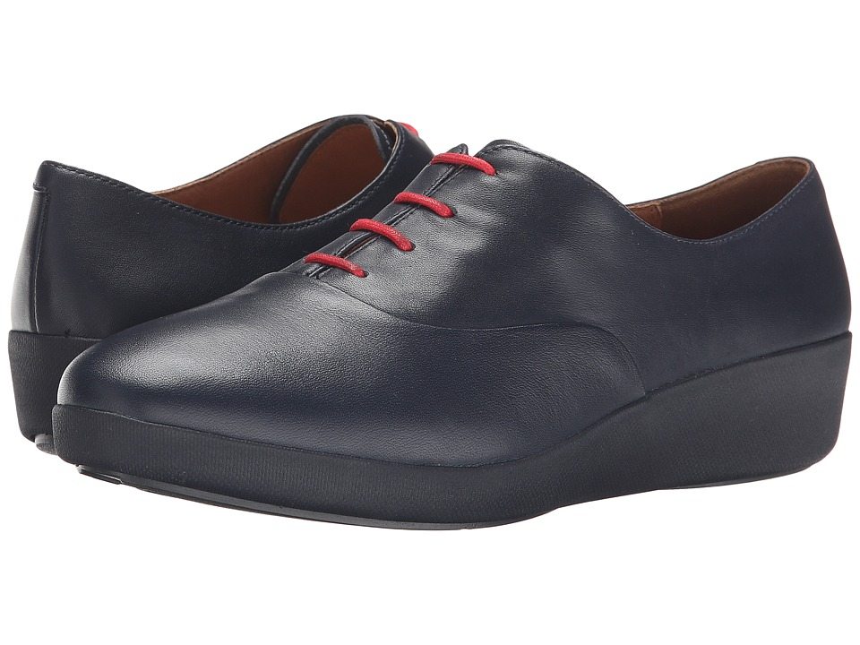 FitFlop F-Pop Oxford (Supernavy Leather) Women