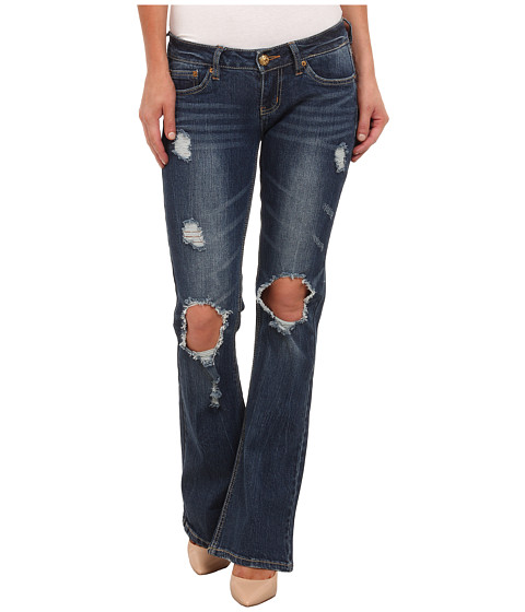 UNIONBAY - Irina Flare Denim Jean in Faded Indigo (Faded Indigo) Women
