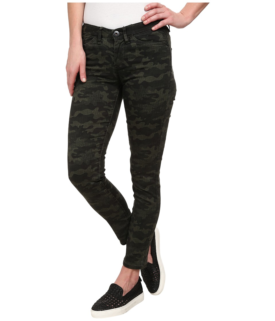UNIONBAY - Clara Crosshatch Camo Jegging (Petrol) Women's Casual Pants