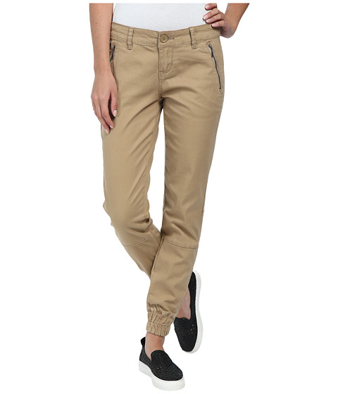 UNIONBAY - Lorine Solid Jogger (Sandy Brown) Women's Casual Pants