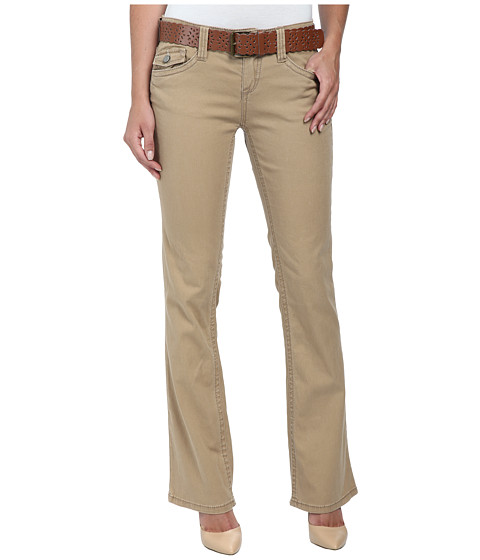 UNIONBAY - Kennedy Straight Boot Pants (Sandy Brown) Women