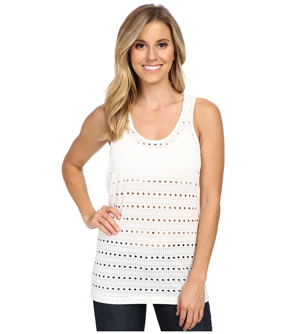 Ariat - Gazelle Fashion Top (White) Women's Sleeveless