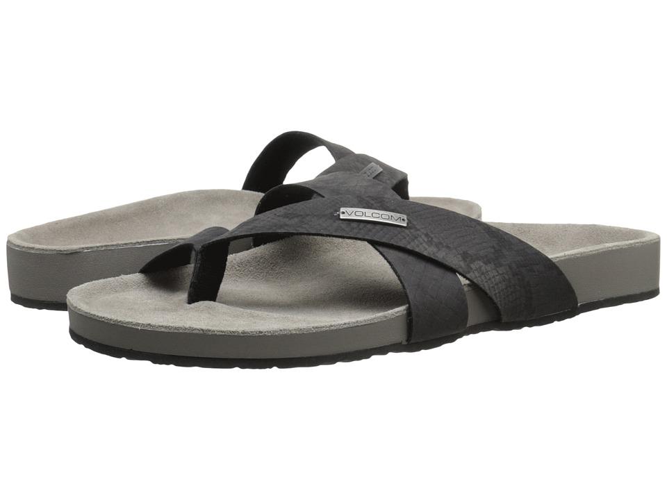Volcom - Selfie Sandal (Black) Women's Sandals