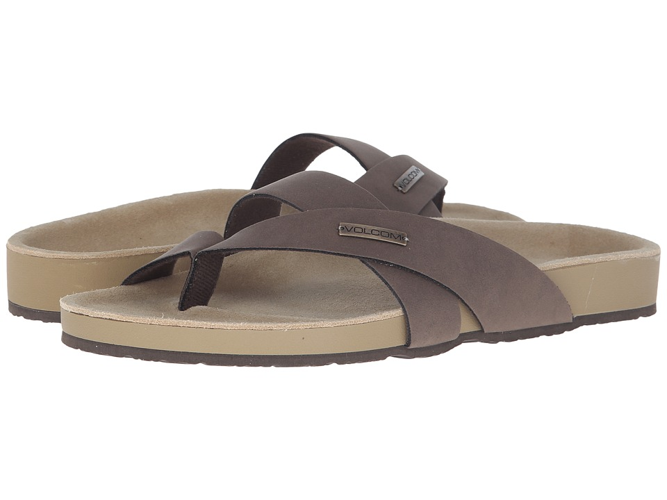 Volcom - Selfie Sandal (Brown) Women's Sandals