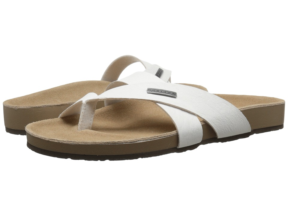 Volcom - Selfie Sandal (White) Women's Sandals