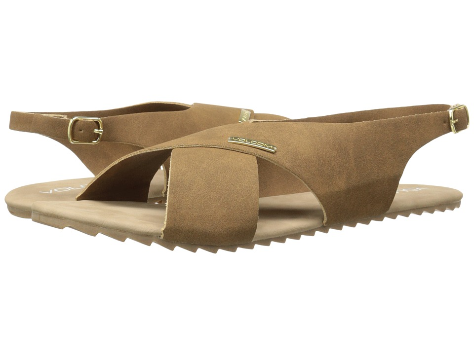 Volcom Most Wanted Sandal (Brown) Women